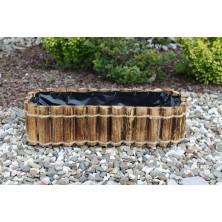 Doniczka drewniana przypalana 50 cm