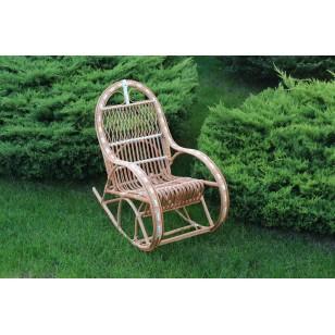 Fotel dla dziecka bujany z wikliny Bairn