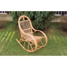 Fotel bujany dla dziecka z wikliny Bairn 02