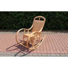 Fotel bujany z płyty wiklinowej Hiacynt
