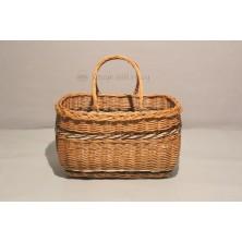 Kosz na zakupy torba wiklinowa 012
