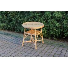 Stół wiklinowy okrągły 60 cm