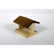 Karmnik dla ptaków z sosny 01