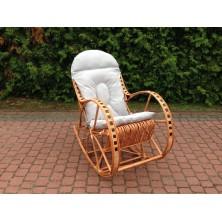 Poduszka na fotel bujany kolor Szary