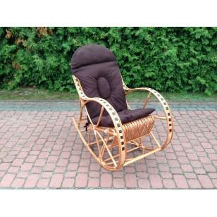 Poduszka na fotel bujany kolor Brązowy