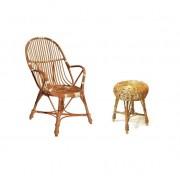 Fotele, krzesła, pufy i taborety wiklinowe